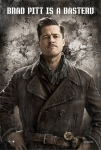 Brad Pitt as Lt. Aldo Raine